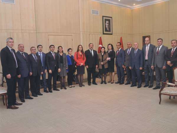 KOSI with Members of the Chamber of Accounts Azerbaijan and the TCA