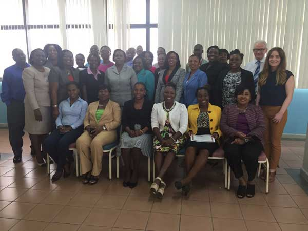 Participants of Cabinet Office of Jamaica in Performance Audit Workshop