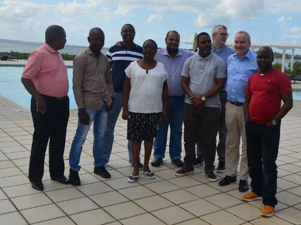 Workshop in Inhambane, Mozambique with the leadership of TA