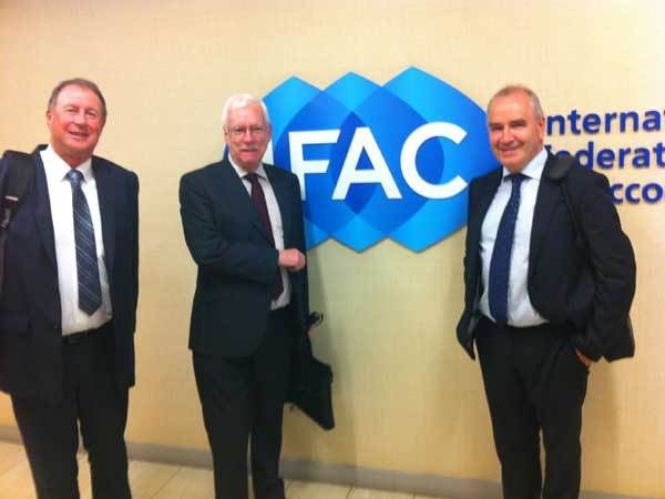 IFAC Headquarters New York with colleagues from CPA Ireland