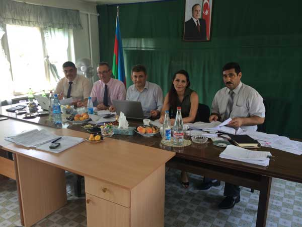 With Turkish Court of Accounts and Chamber of Accounts Azerbaijan