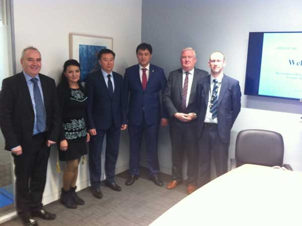 With Office of the C & A G and Accounts Chamber Kyrgyz Republic
